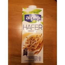 Alpro Hafer Original mild-getreidiger Geschmack