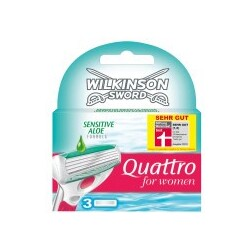 Wilkinson Quattro Sensitive (3x)