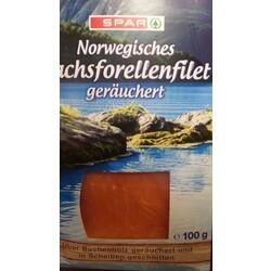 Spar Norwegisches Lachsforellenfilet geräuchert