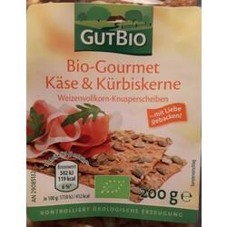 GutBio Bio-Gourmet Käse & Kürbiskerne