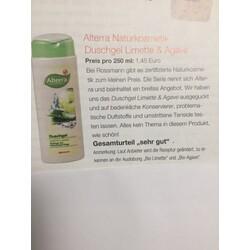 Alterra - Duschgel Bio-Limette & Bio-Agave