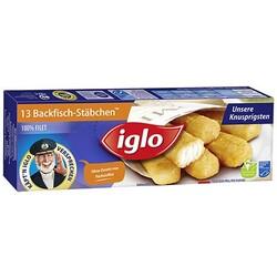 Iglo - 13 Backfisch-Stäbchen