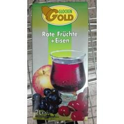 Glockengold - Roter Früchtedrink mit Eisen