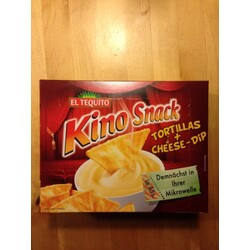 El Tequito Kino Snack Tortillas + Cheese-Dip
