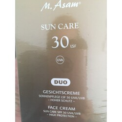 M. Asam sun care 30 LSF