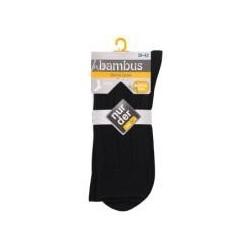 nur der Bambus Warme Socke Gr. 39-42 schwarz
