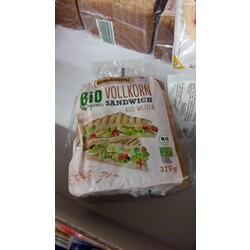 Grafschafter Bio Organic Vollkorn Sandwich