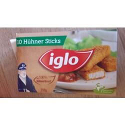 Iglo 10 Hühner Sticks
