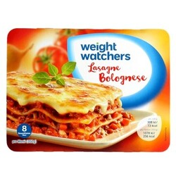 WeightWatchers Lasagne Bolognese