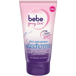 bebe young care 3 in 1 Anti-Pickel-Waschcreme 150 ml