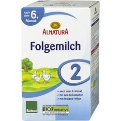 Alnatura Milchnahrung 6. Monat Folgemilch 2, (500 g), 1 Stück