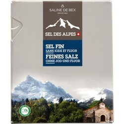 Saline De Bex Feines Salz ohne Jod und Fluor