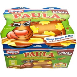 Dr. Oetker - Paula Schokoladen-Pudding mit Vanille-Flecken