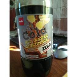 Penny Cola Mit Ingwer Geschmack Zero 0% Zucker