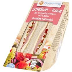 FABRY'S Schinken-Käse Sandwich