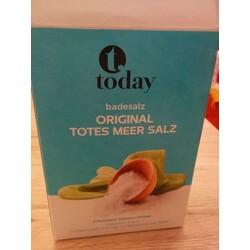 Today Badesalz Original Totes Meer Salz