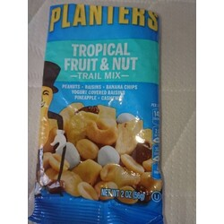 Planters Tropical Fruit&Nut Trail Mix