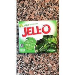 Lime Artificial Flavor Jell-o