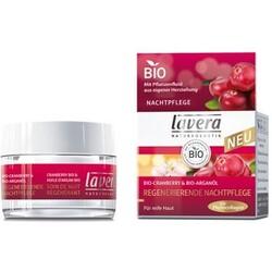 Lavera Regenerierende Nachtpflege Cranberry & Arganöl (30 ml)