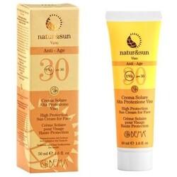 natur&sun Bio Gesichts-Sonnencreme Anti-Aging LSF 30 (50 ml) von natur&sun