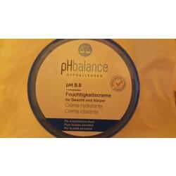 pHbalance Hypoallergen pH 5.5 Feuchtigkeitscreme