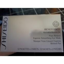 Shiseido Benefiance WrinkleResist24 (Patches  12ml)
