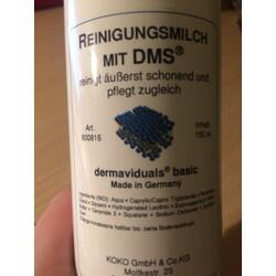 Reinigungsmilch mit DMS