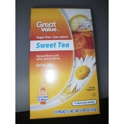 Great Value Sweet Tea Drink Mix