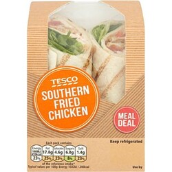 Sainsbury's Southern Fried Chicken Wrap