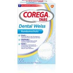 COREGA Tabs Dental Weiss für Raucher, 66 St