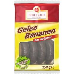 Berggold Gelee Bananen, 250g