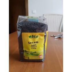 Holo Bio Sesamsaat schwarz