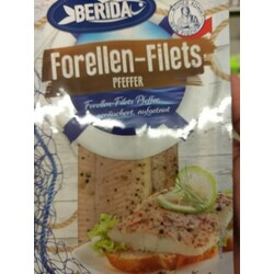 Berida Forellen-Filets Pfeffer