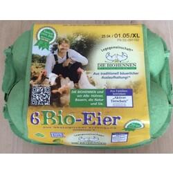 Edeka - frische Eier aus Bio-Haltung, 6 Stück