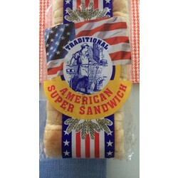 Traditional American Super Sandwich
