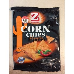 Zweifel Corn Chips Chili Paprika