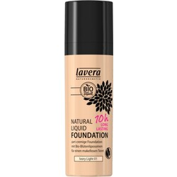 Natural Liquid Foundation Ivory Light 01
