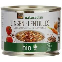 Coop Naturaplan Bio Linsen an Tomatensauce