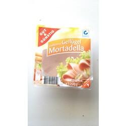 Edeka Gut & Günstig Delikatess Geflügel-Mortadella