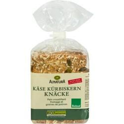 ALNATURA - Käse Kürbiskern Knäcke (mit 63% Dinkel)