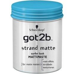 Schwarzkopf got2b - Strand Matte Surfer Look Matt-Paste