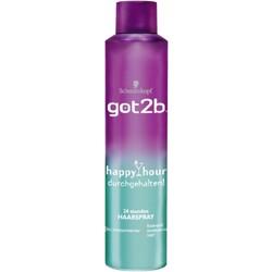Schwarzkopf got2b 24h Haarspray- happy hour durchgehalten 300 ml