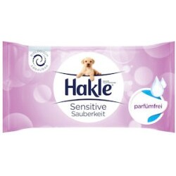 Hakle Sensitive Sauberkeit