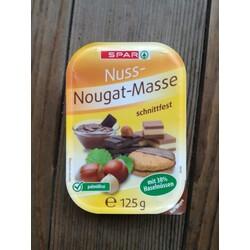 Spar Nuss-Nougat-Masse Schnittfest
