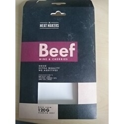 The Meat Makers Beef Wine & Cherries