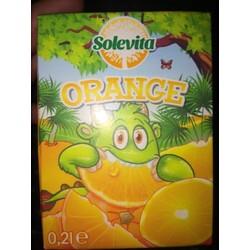 Solevita Orangen Fruchtsaftgetränk