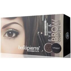 Bellapierre Eye & Brow Complete Kit - Marrone