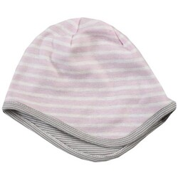 People Wear Organic Wendemütze rosa grau