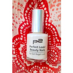 P2 Perfect Look! Beauty Nails 010 White Charm