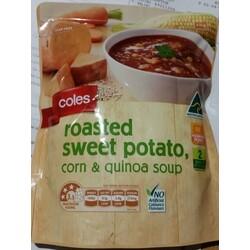 Coles Roasted Sweet Potato, Corn & Quinoa Soup
